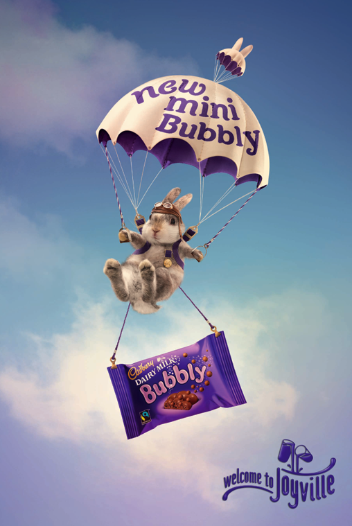 """joyville cadbury's global campaign Cadbury dairy milk is evolving its 'joyville' campaign with a four-month  as it  seeks to bring """"the joy of cadbury dairy milk into the real world."""